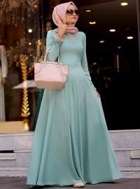 Classic Cloche Dress - Mevra - Modanisa