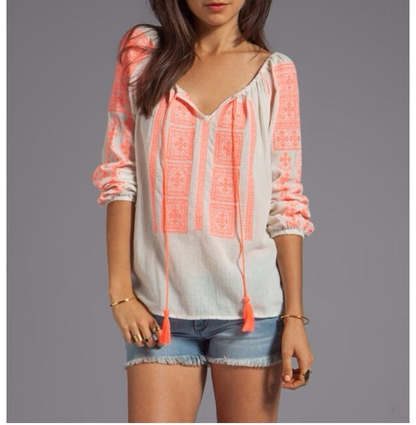 sweater tribal pattern pink