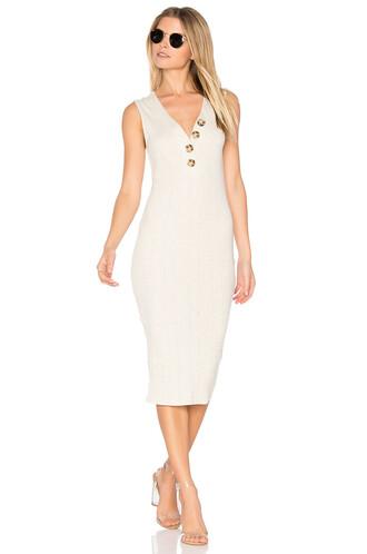 dress midi dress midi white