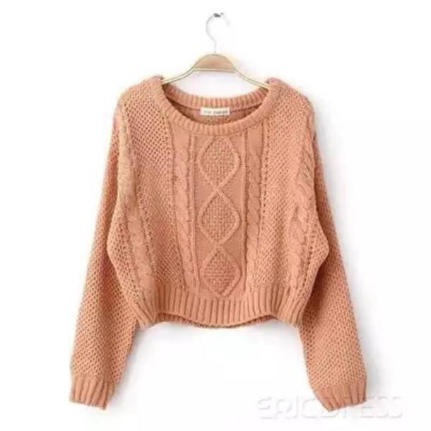 Classy hot style twist short style sweater