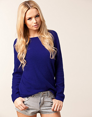 Fury Sweater - Nelly Trend - Blue - Jumpers & cardigans - Clothing - NELLY.COM Fashion on the net