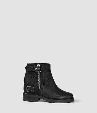 Womens Cubista Boot (Black/Red) | ALLSAINTS.com