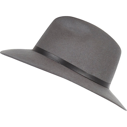 Look trim fedora hat