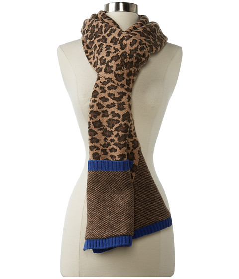 Marc by Marc Jacobs Lenora Leopard Scarf Chicory Brown Multi - Zappos.com Free Shipping BOTH Ways