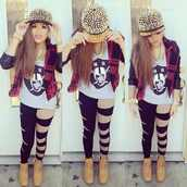 pants,clothes,swag,combat boots,spike snapback,jewelry,hat,jacket,jewels,where to get this whole outfit
