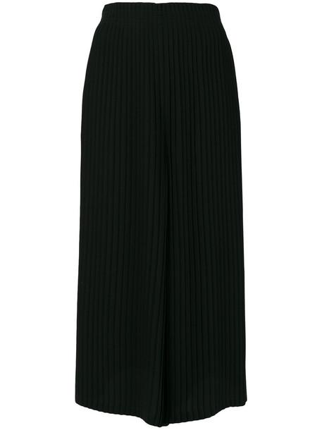 Mm6 Maison Margiela pleated women black pants