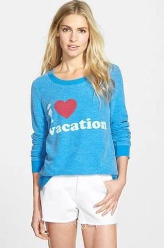 sweater baby blue