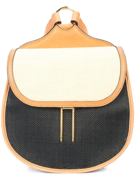 Hayward mini women backpack leather suede brown bag