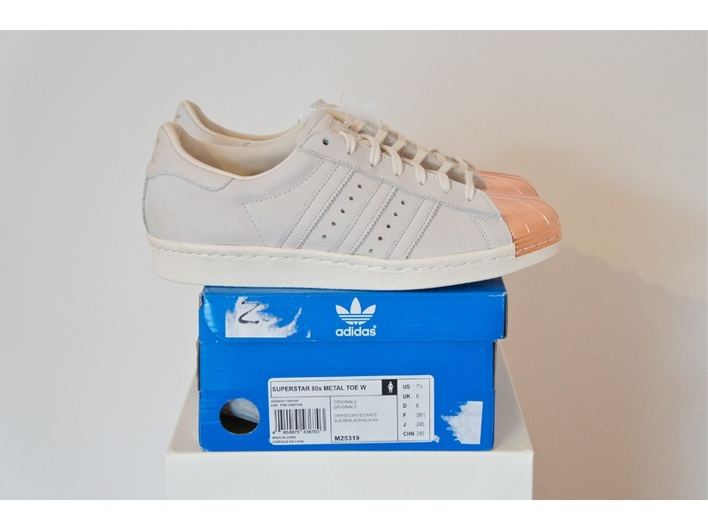 Adidas Superstar 80's Metal Toe Bronze MULTIPLE SIZES AVAILABLE ...