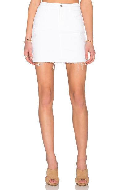 J BRAND skirt pencil skirt white