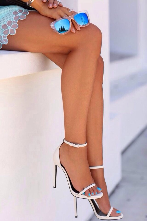 exactly this style sunglasses white heels sandal heels sandals high heel sandals heels