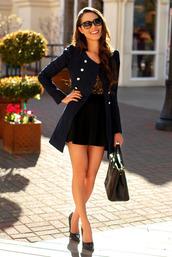 jacket,blue jacket,gorgeous,pretty