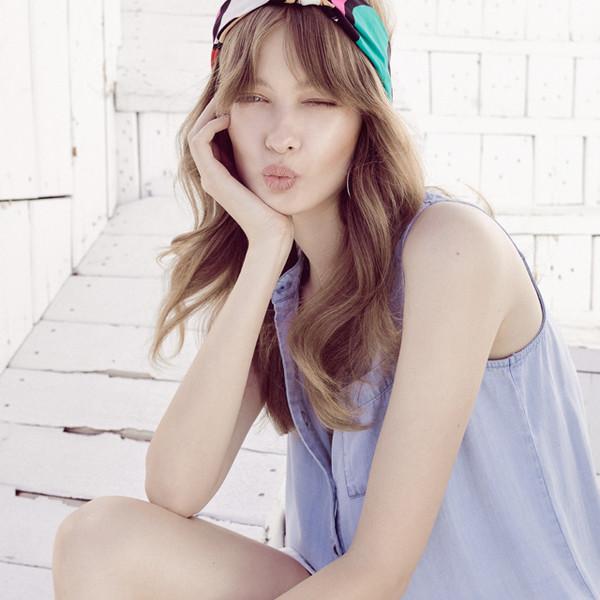 dress classic tencel dip dyed summer dress lovestitch cute boho chic denim blue blue dress