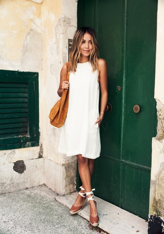 dress shoes white dress summer dress white summer dress soludos wedges brown espadrilles espadrilles sincerely jules blogger espadrilles wedges brown wedges lace up espadrilles