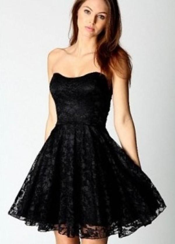 dress little black dress lace dress lace