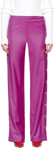 Misbhv wool pink pants