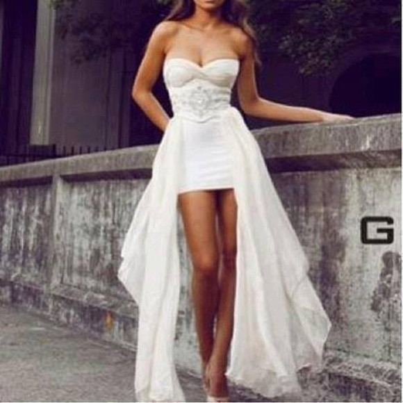 dress gown white dress