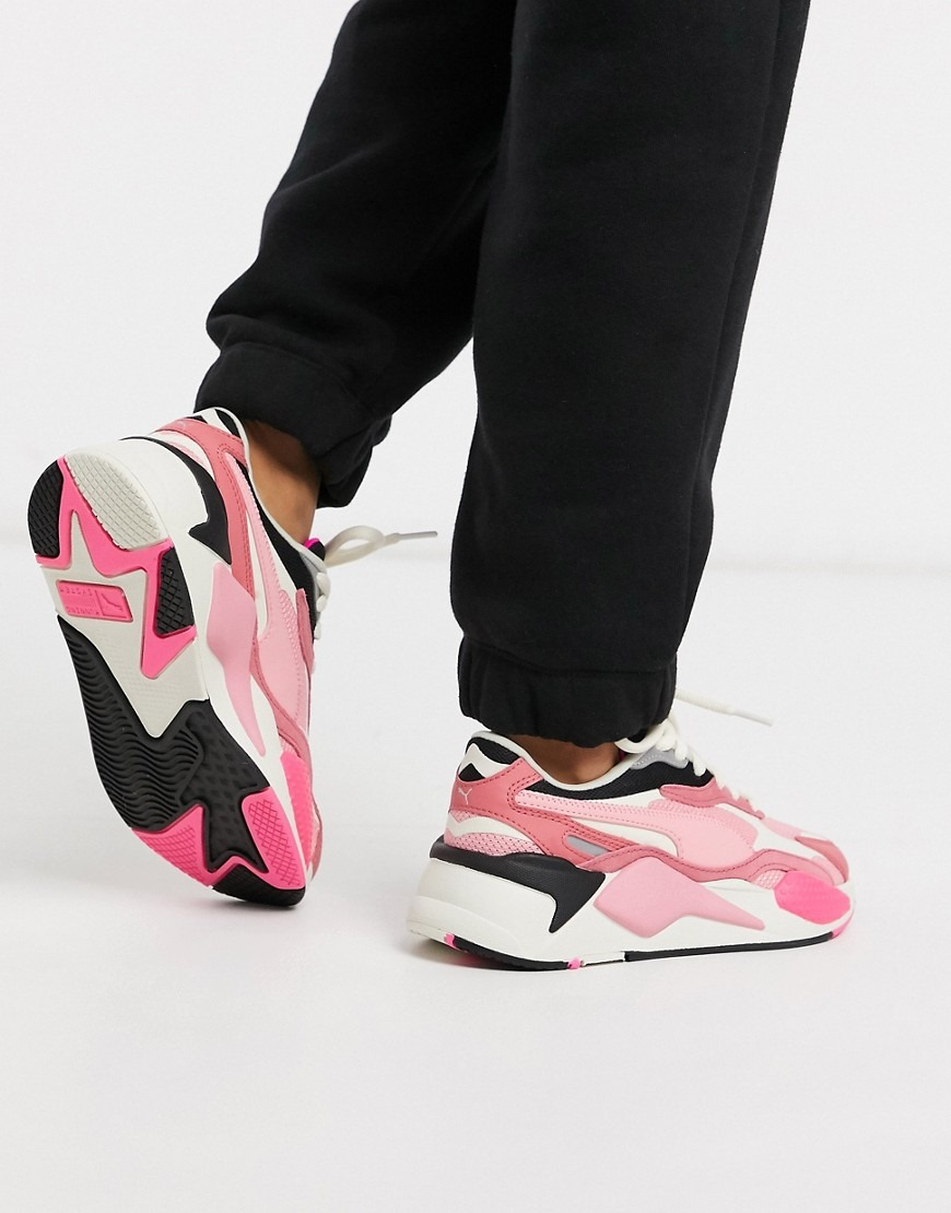 Puma RS-X3 trainers in pink