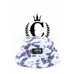 STUSSY Tie Dye Bucket Cap Black | Culture Kings Online Store