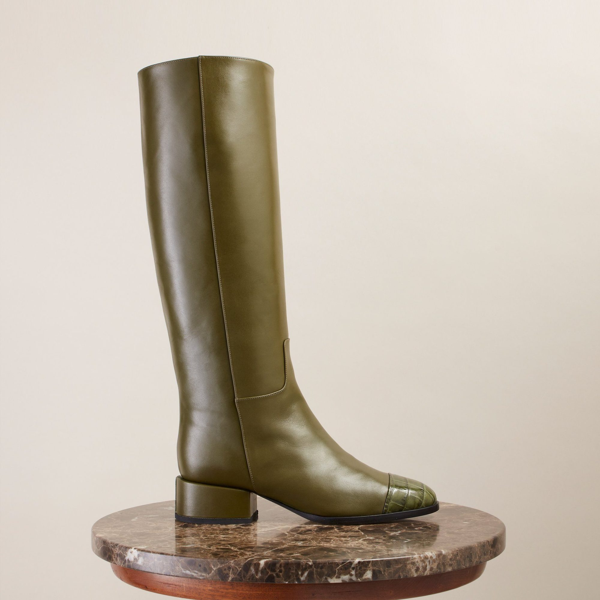 LINE BOOT, OLIVE