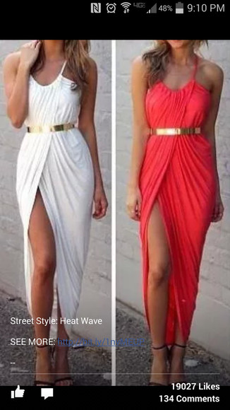maxi dress salmon dresses