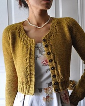 sweater,cardigan,yellow
