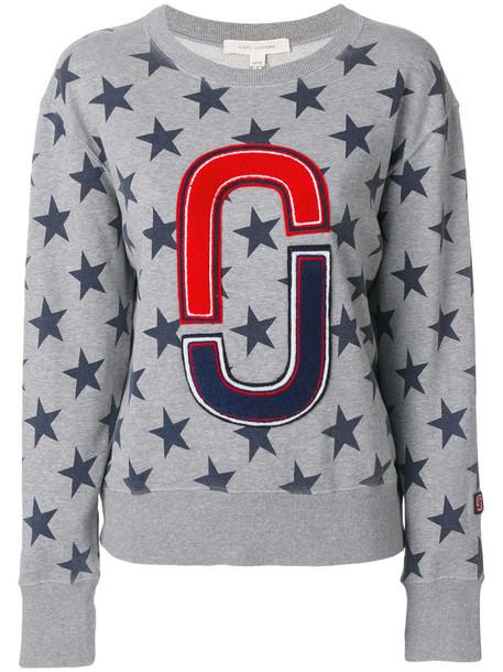 Marc Jacobs - stars double J sweatshirt - women - Cotton - XL, Grey, Cotton