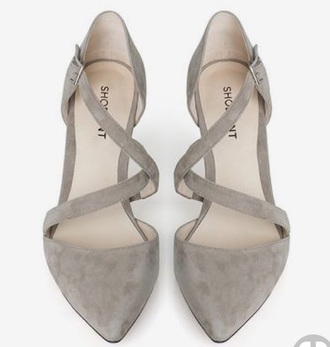 shoes grey shoemint strappy flats buckles cute cute shoes sweet stylish