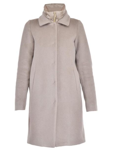 Herno coat wool coat wool