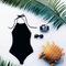 Fashion scalloped one piece bikinis