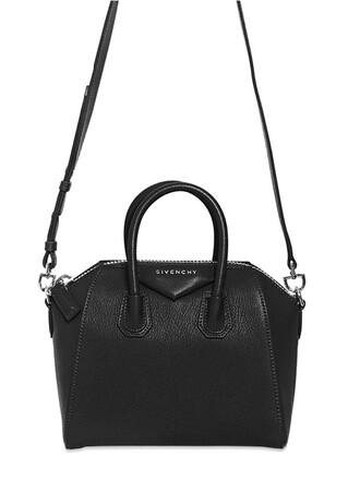 top leather top mini leather black