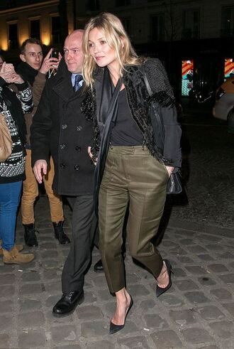 pants kate moss pumps shoes