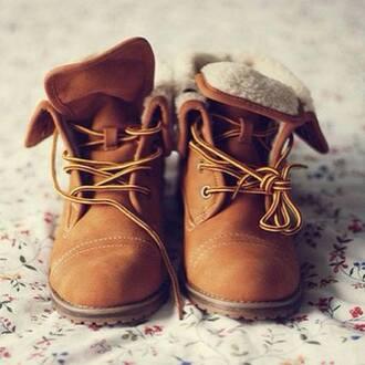 shoes boots fur