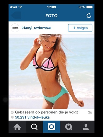 swimwear triangle triangle bikini