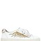 20mm sun ray embroidery leather sneakers