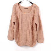 sweater,pink,pale,pale pink jacket,winter sweater