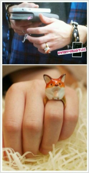 jewels ring foxes kpop korean