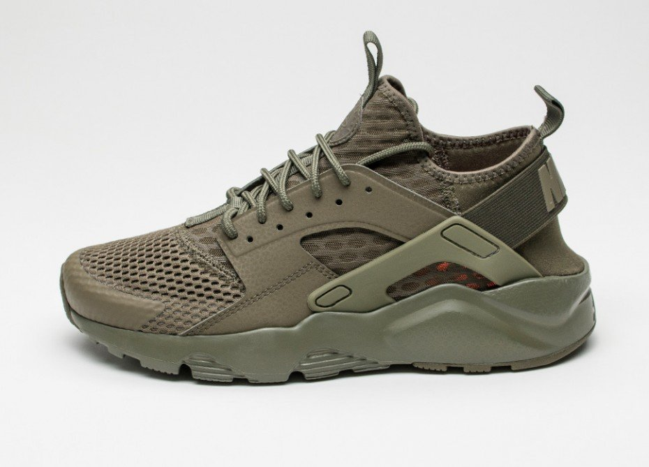 Nike Air Huarache Run Ultra BR (Medium Olive / Medium Olive)