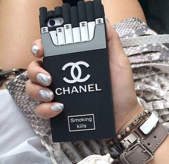 phone cover chanel iphone cover