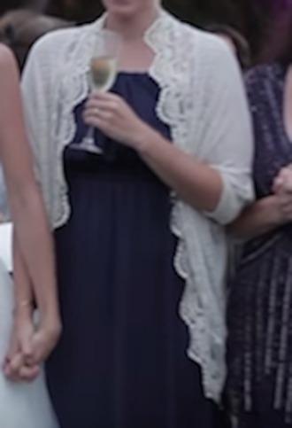 cardigan wedding clothes lace ivory