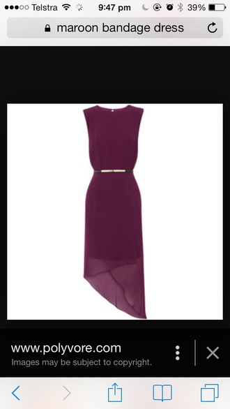 dress shift burgundy
