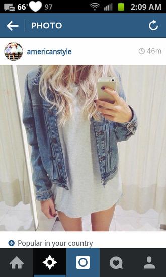 belt jean jackets tee shirt dress jacket