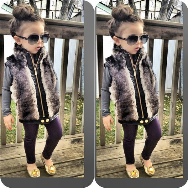 Faux Fur Vest from paydayloansonlinesameday.ga Shop clothing & accessories from a trusted name in kids, toddlers, and baby clothes.
