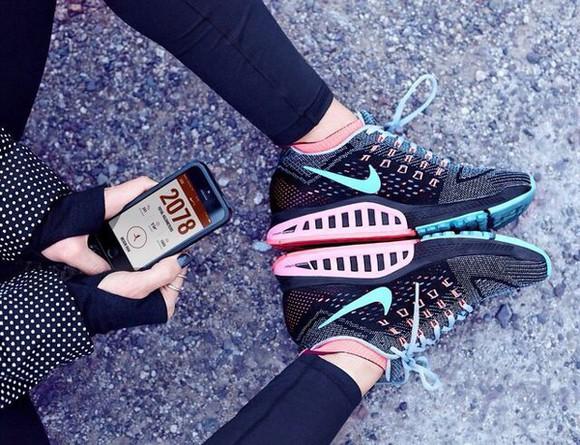 turquoise blue black nike running shoes nike sneakers nike shoes nike trainers nike nike brand pink