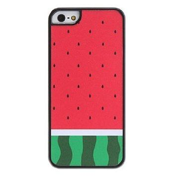 Case for iphone 5/5S - Watermelon Pattern Hard Case for iPhone 5/5S on Wanelo