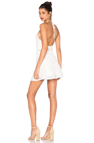dress lace dress sleeveless lace white