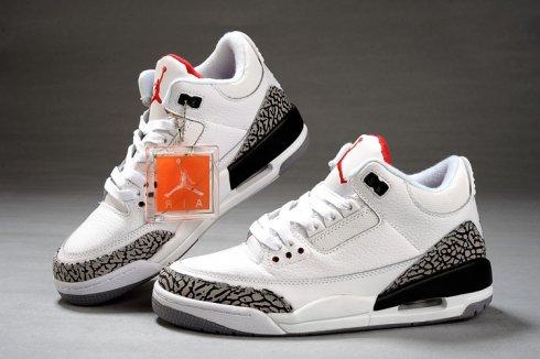 grand choix de c8ecc fb1e8 Air Jordan Retro 3 Femme Blanc Noir En Ligne [Nike Air Jordan 3 Femme] -  €58.00 : Puma Ferrari Chaussures,Vibram FiveFingers,asics chaussures