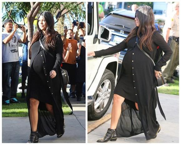 kourtney kardashian dress bag jacket shoes