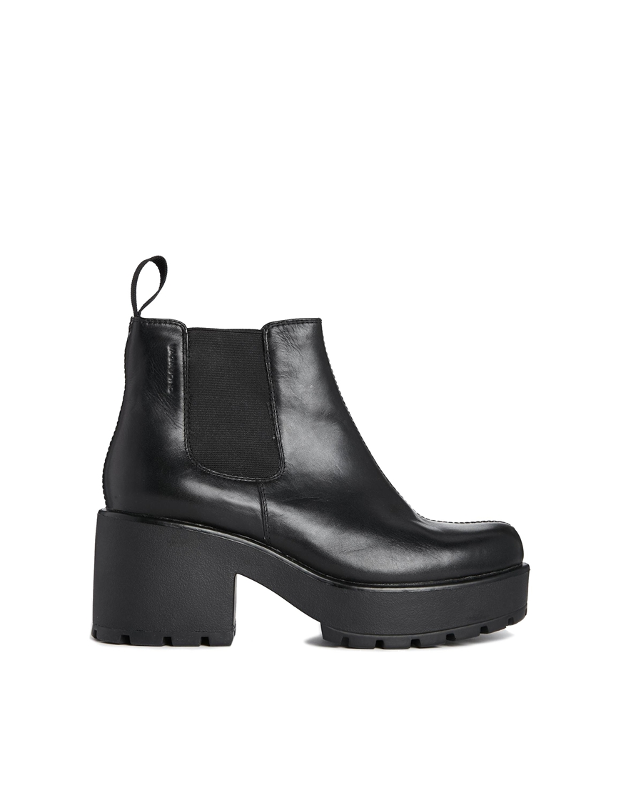 vagabond leather dioon chelsea ankle boots at. Black Bedroom Furniture Sets. Home Design Ideas