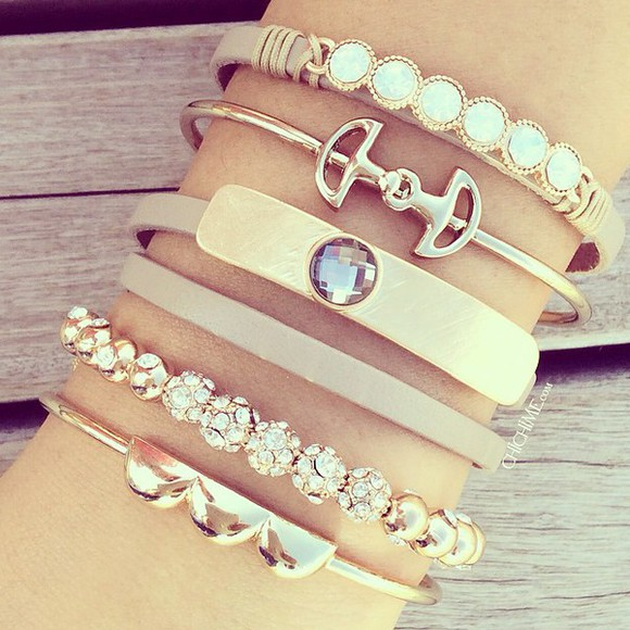 jewels fashion style bracelets